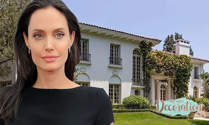 🎀 Angelina Jolie's New Mansion That Will Keep You Jawing!🎀