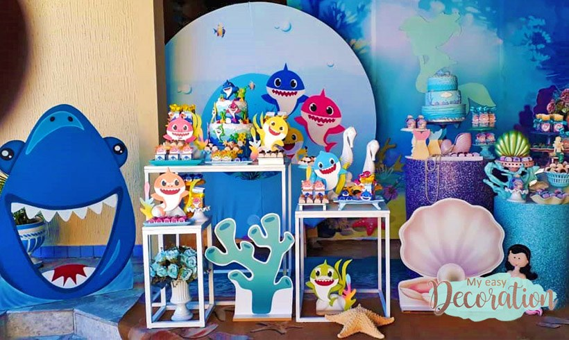 Babies Shark - 17+ Tricks and Inspirations to Decorate! 🐠