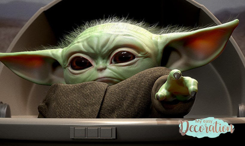 +35 Baby Yoda Memes, Toys, that will Make You Happy ❤️