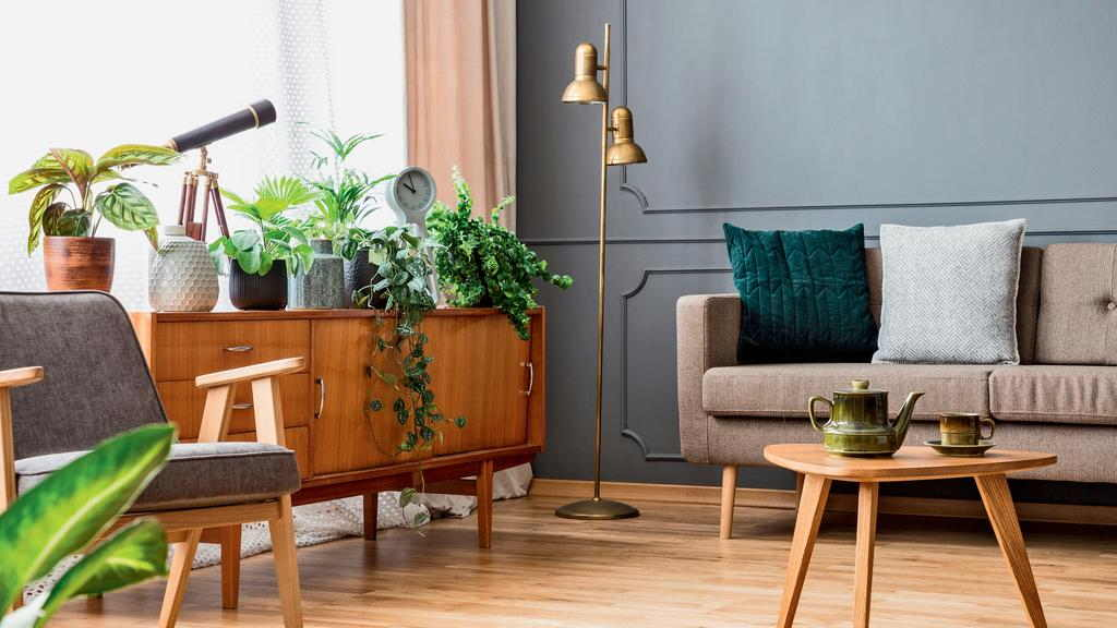 Feng Shui Living Room Tip 2: Match the Colors