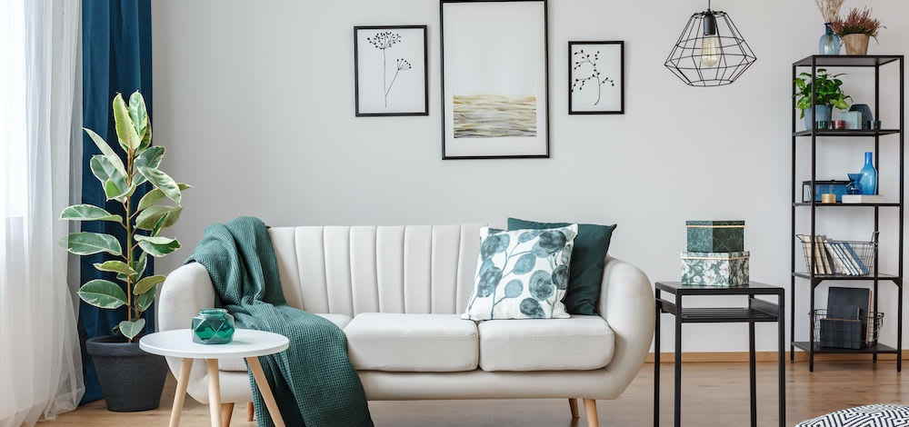 Feng Shui Living Room Tips 1: Align the Furniture on the Wall