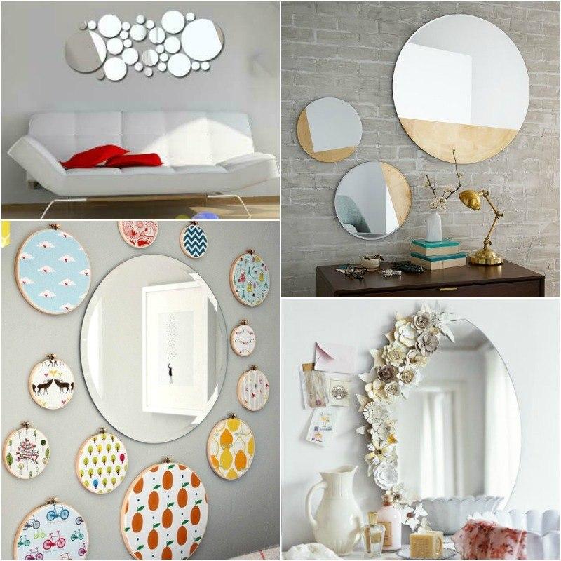 Round Shaped Mirrors