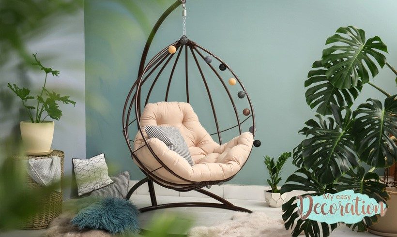 😍Amazing Hanging Chair Indoor and Outdoor Best Sell in 2021!🌈