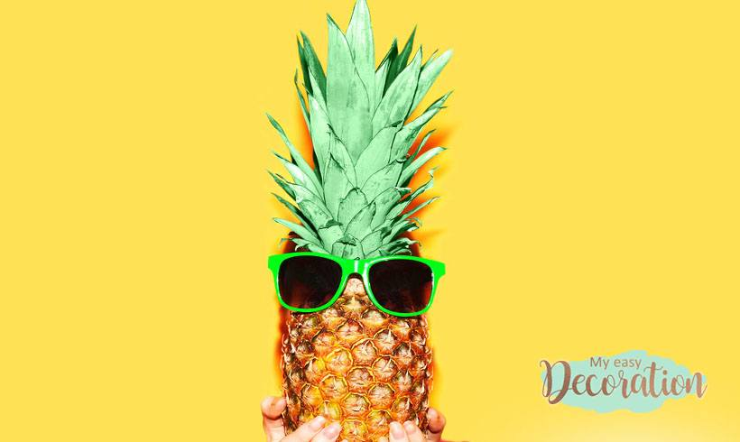 Pineapple has become a Fever in the Decoration World! 🍍