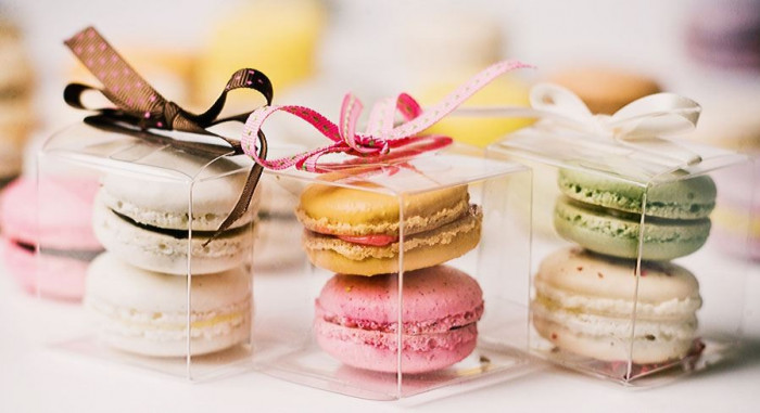 Baby Shower Favors Candies With Macarons