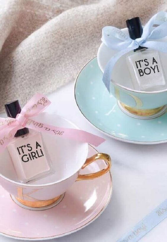 Baby Shower Favors Girl By Nail Polishes