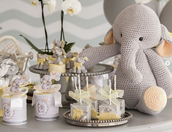 Baby Shower Elephant Decoration