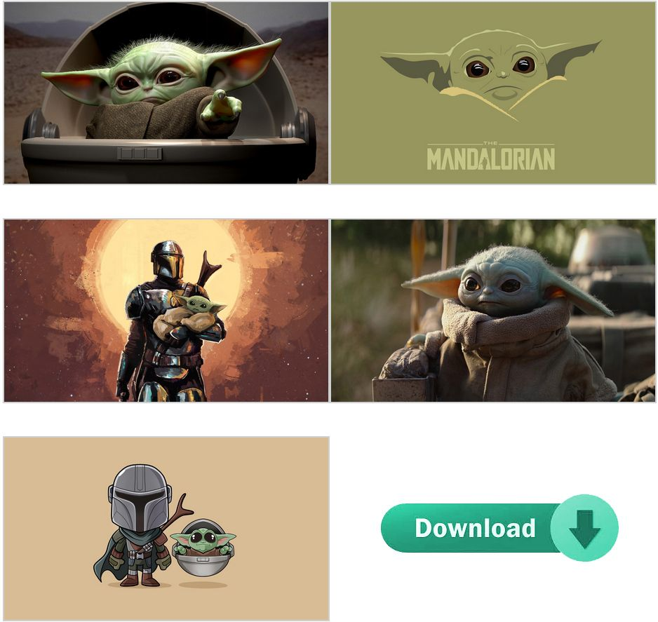 Baby Yoda Wallpapers Download