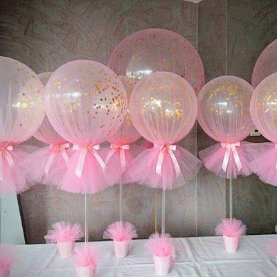 Balloon Tule Decoration