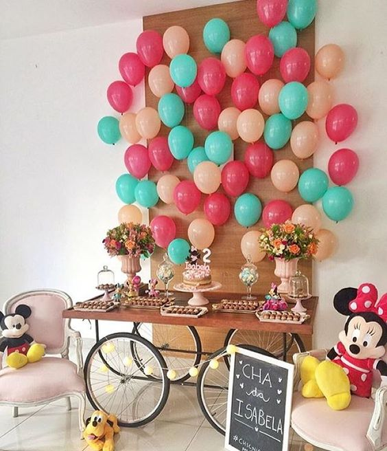 Balloon: How to Decorate on the Wall