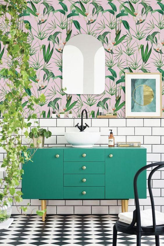 Bathroom Design Ideas With  Dear Plants