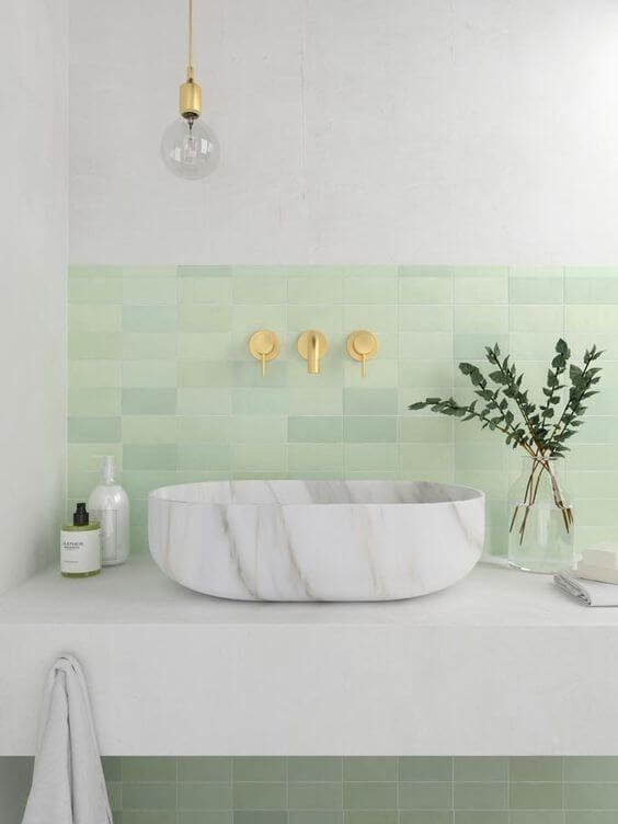 Bathroom Design Ideas With Neo Mint