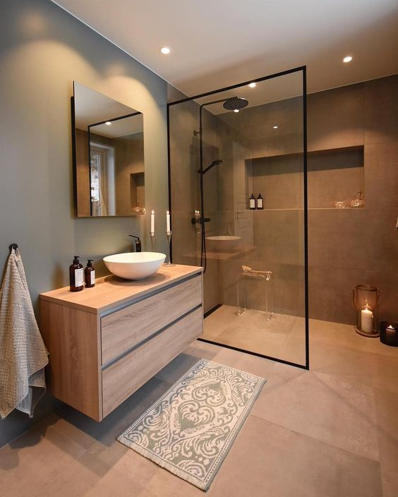 Faucets Are Highlighted In Modern Bathroom Ideas