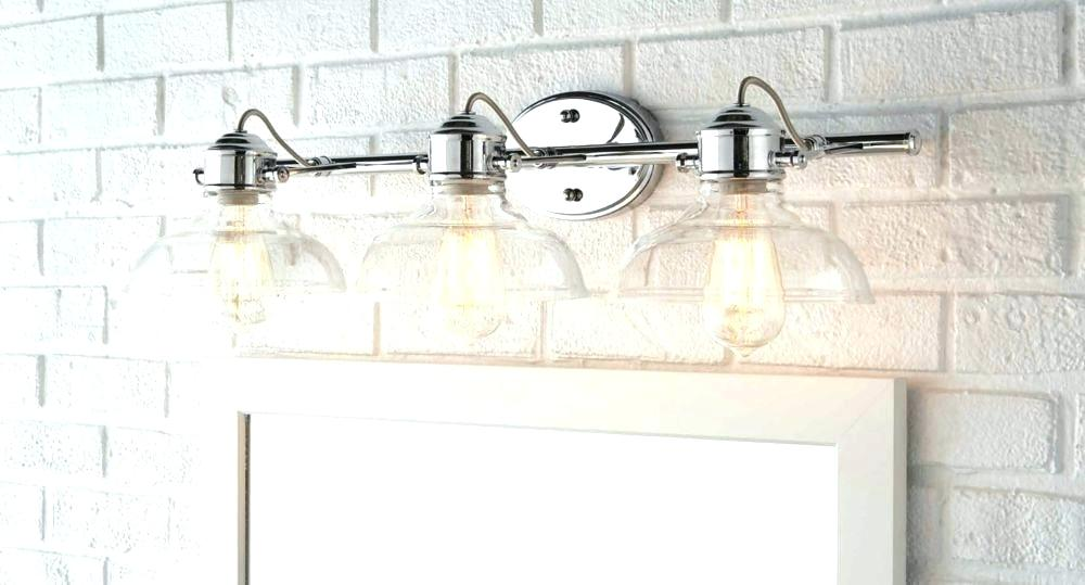 Bathroom Lights Brushed Nickel