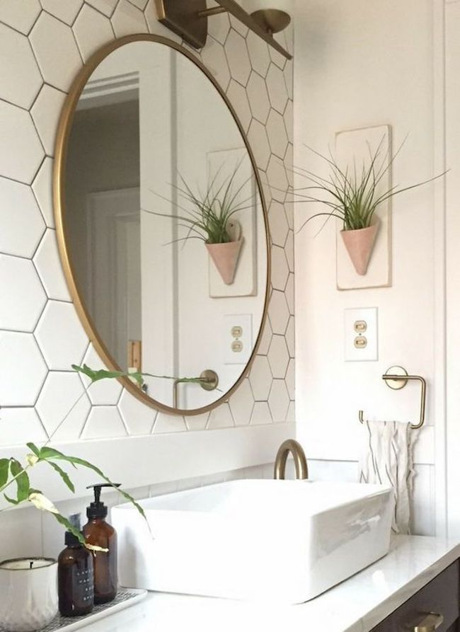 Bathroom Mirror With Frame