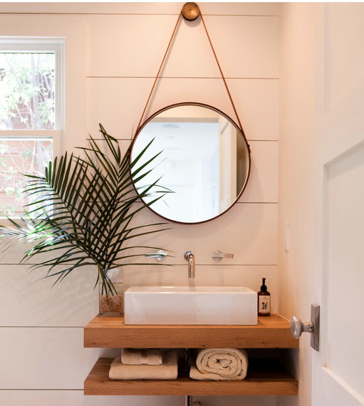 Round Or Oval Bathroom Mirror