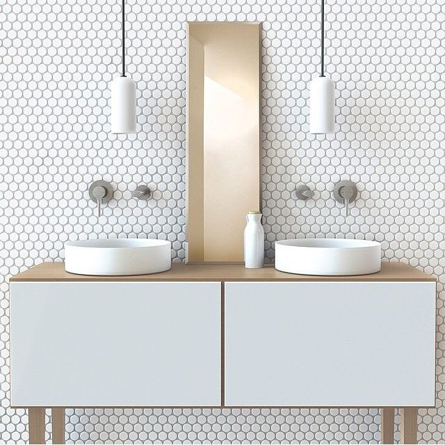 How To Use The Bathroom Mosaic Tiles Pads