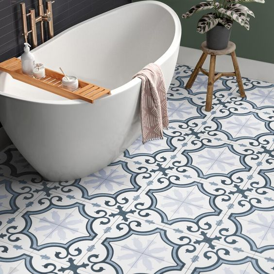 Square Tiles And Colorful