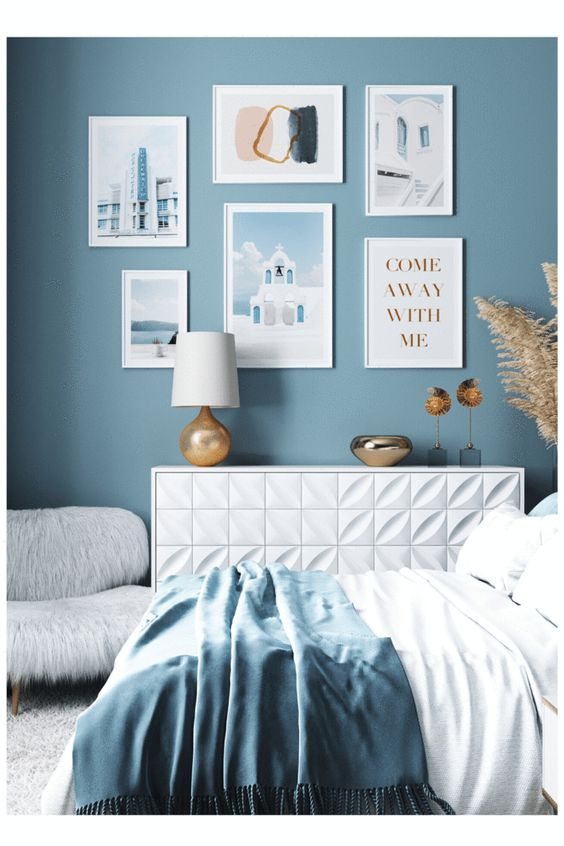 Bedroom Decoration Ideas With High Colors