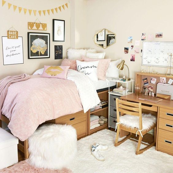 Fun Style Bedroom Decoration Ideas For Teenage Girl