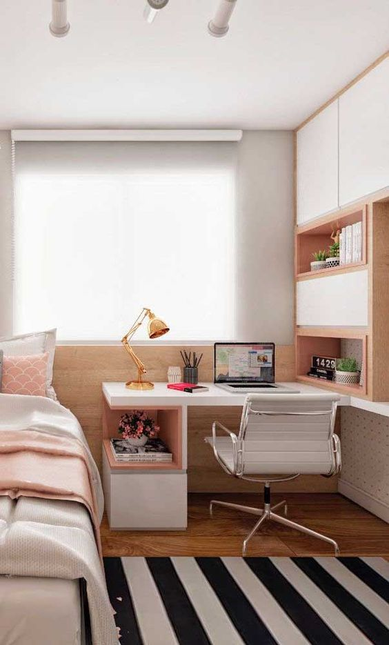 Bedroom Settings in small room tip 2: Enjoy all spaces: