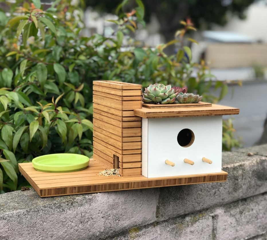 Birdhouse Design: A Touch of Modern Architecture 2