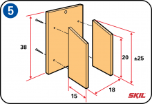 Step 5: Assemble The Side Panels Of The Birdhouse