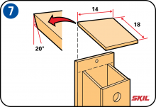 Step 7: Place The Roof