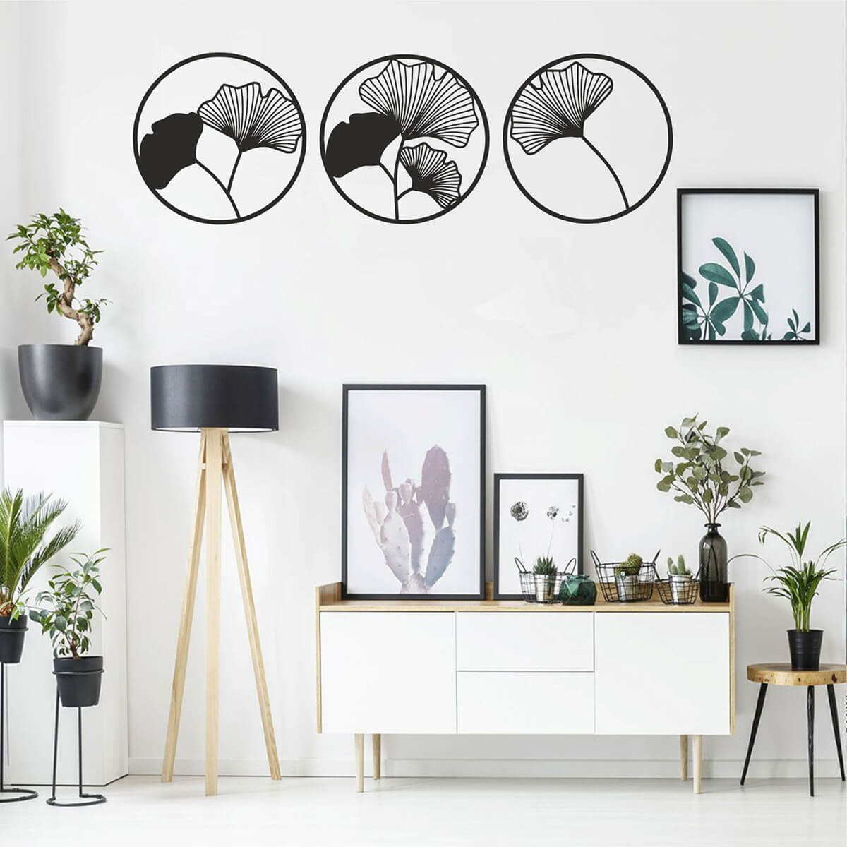 Black And White Decoration In A Concept and History