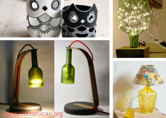 Lampshades With Bottles