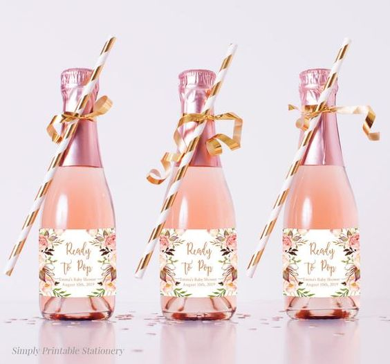 Bottles For Party Favors