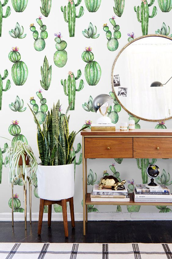 Cactus Print
