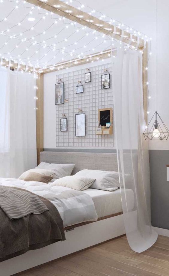 Styles Of Canopies Beds For Double Bedroom Classic