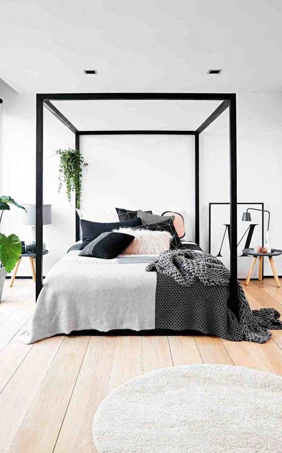 Styles Of Canopies Beds For Double Bedroom