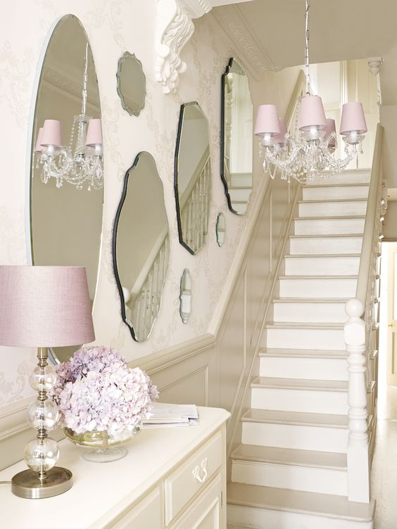 Crystal Chandelier To Hall