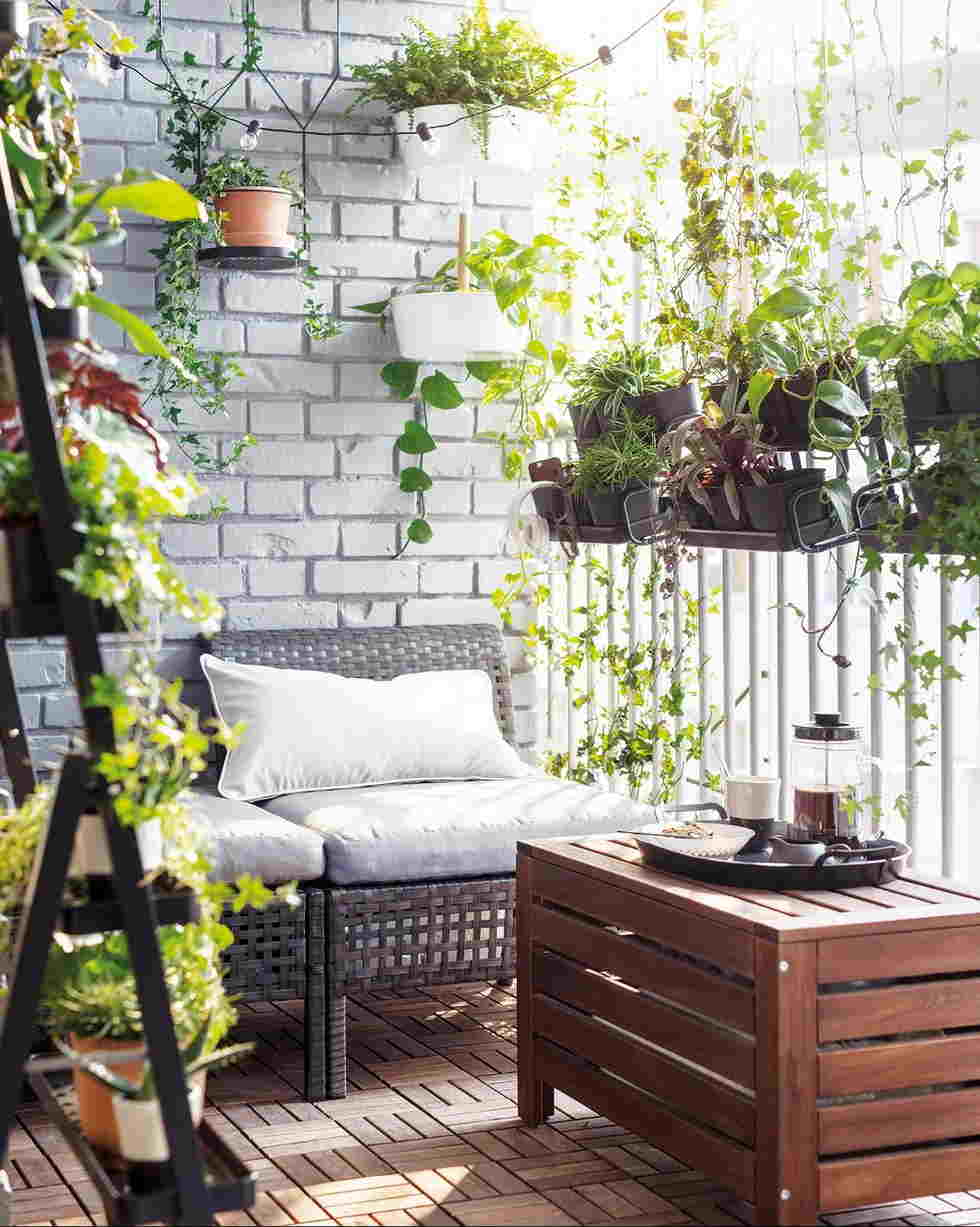 Decorating Deck With Plants and Flowers