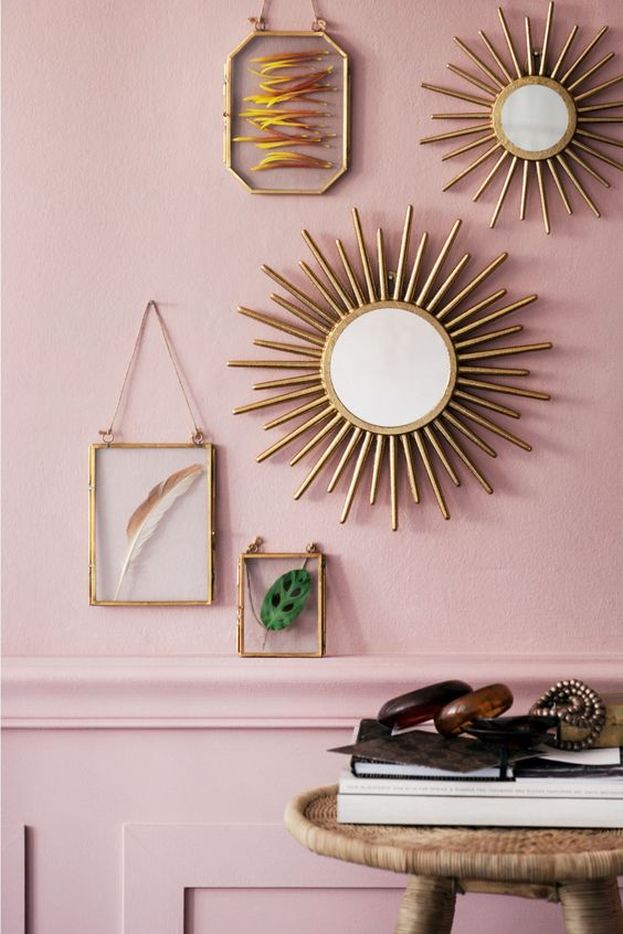 Decorating The Wall With Mirror