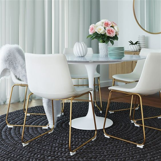 Dining Chairs White
