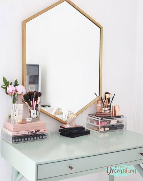 Dressers Mirror in Scandinavian Style