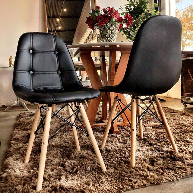 The Eames Chair Upholstered