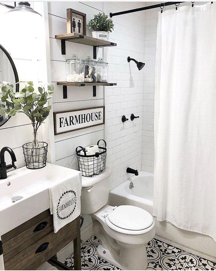 farmhouse-decor-bathroom