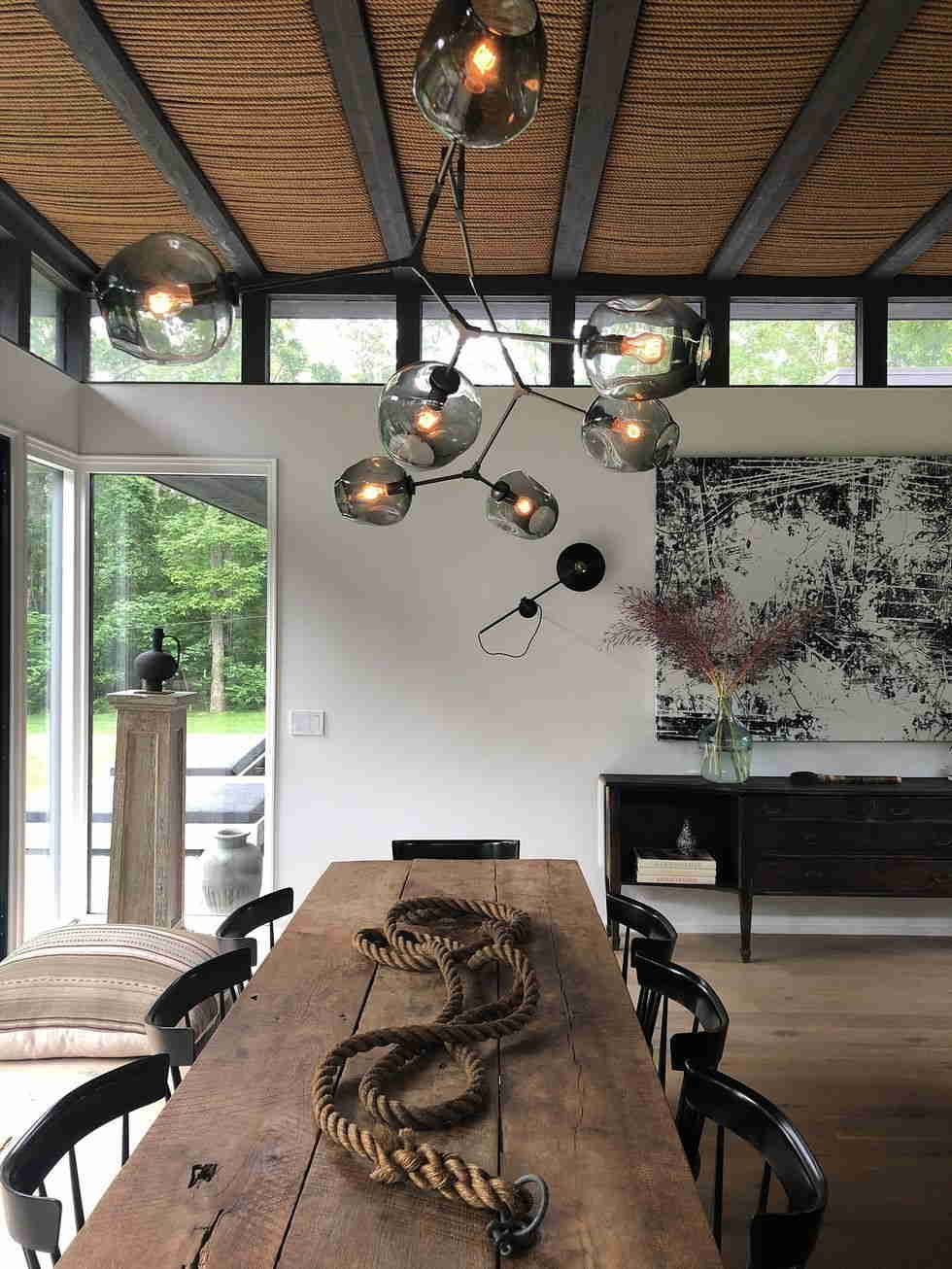 Farmhouse With Industrial Style
