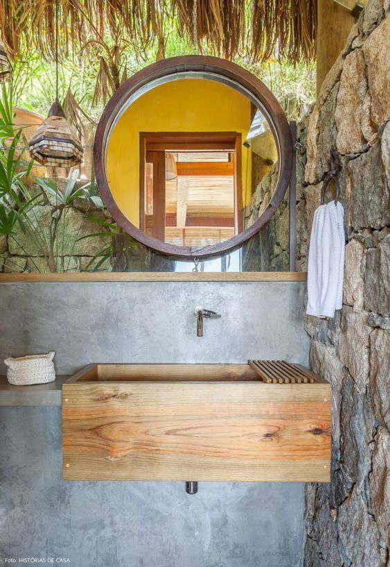 How Is A Farmhouse Style Bathroom?