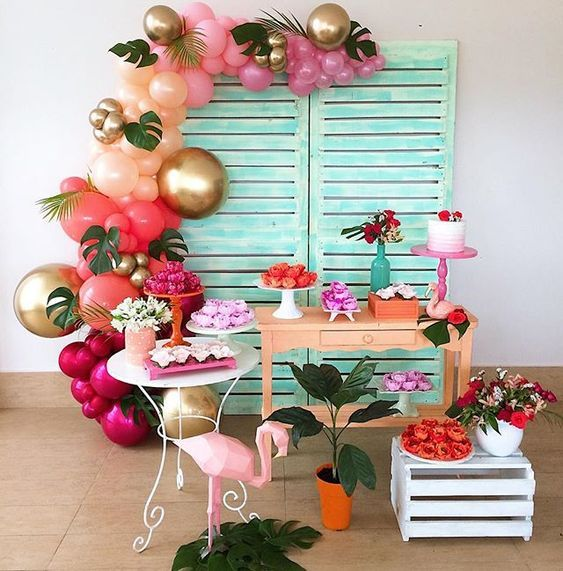 9 Tips For Decorating Parties With Flamingos