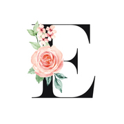 Flowers With E