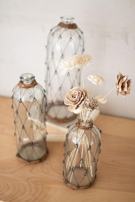 Ways To Decorate Glass Vase At Home