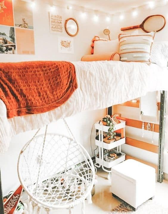 Hanging Chair for kids In the bedroom