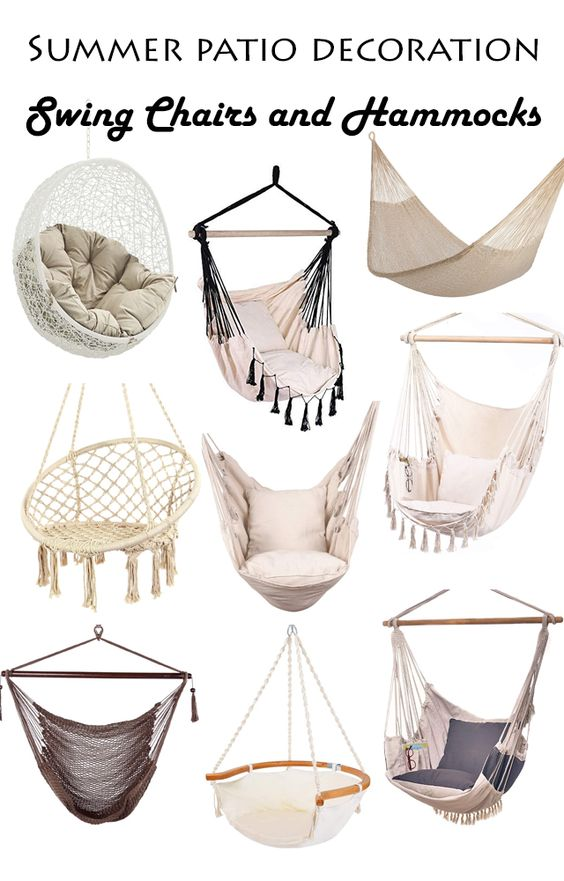 Hanging Chair Outdoor Models