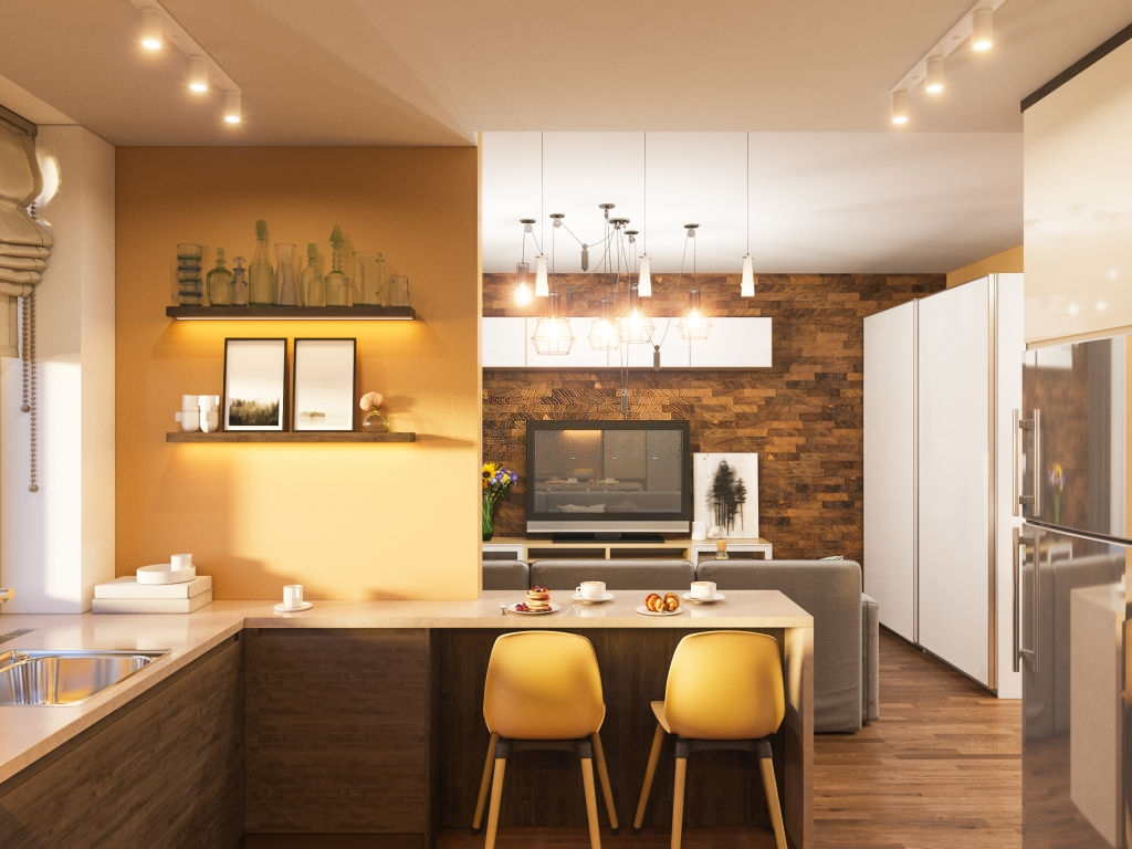 Home Decorating Styles In Contemporary Colors