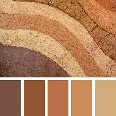 Home Decorating Styles in Rustic Colors